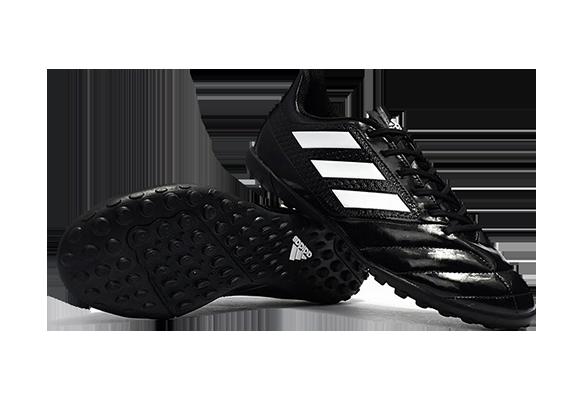 Adidas Ace 17.4 TF Черные с Белым