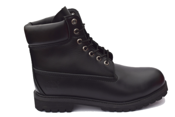 Timberland кожаные черные
