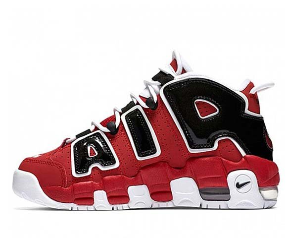 Nike Air More Uptempo Red-Black