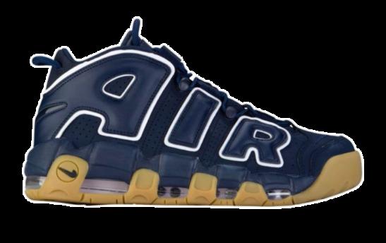 Nike Air More Uptempo синие