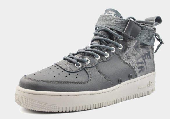 Nike SF Air Force 1 Mid серые