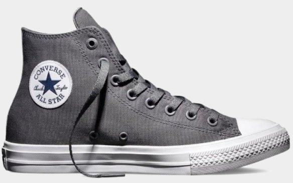 Фото Converse Chuck Taylor All Star II High серые - 1