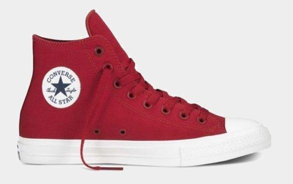 Converse Chuck Taylor All Star II High Бордовые