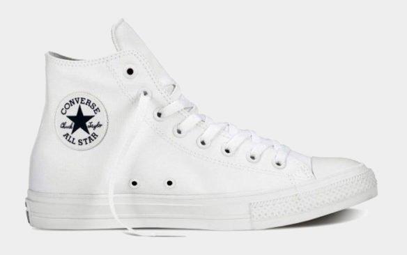 Converse Chuck Taylor All Star II High Белые