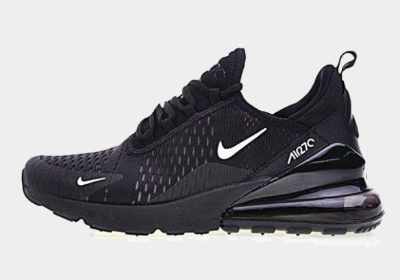 Фото Nike Air Max 270 черные с белым - 2