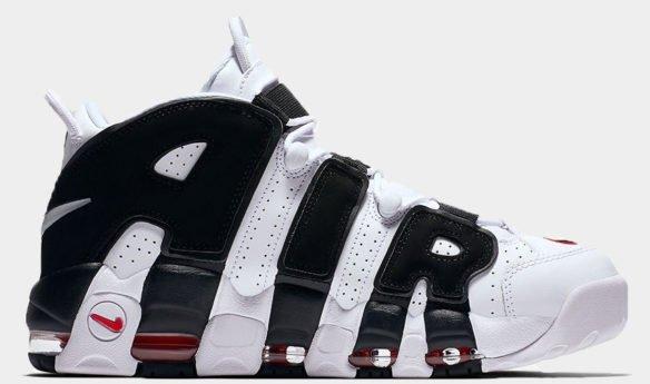 Nike Air More Uptempo White-Black