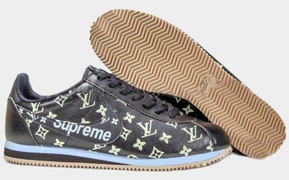 Nike Cortez x Supreme (Black-Gum)