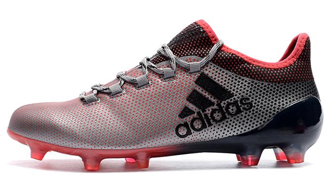 Фото Adidas X 17.1 FG серо-красные - 3