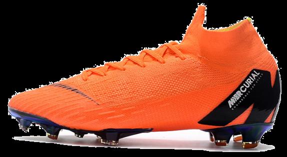 Фото Nike MERCURIAL SUPERFLY VI Оранжевые - 1