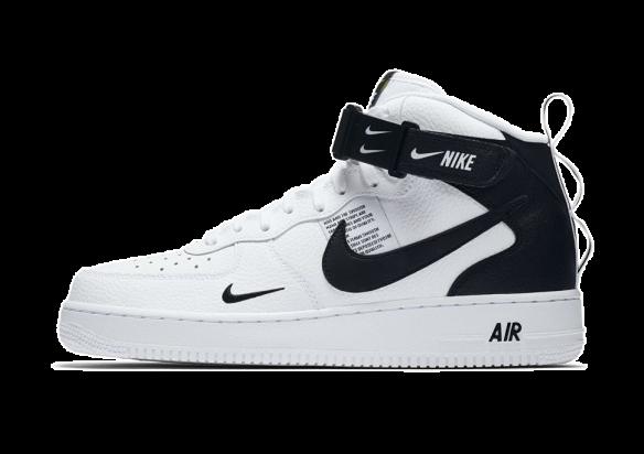 Nike Air Force 1 '07 Mid Utility WhiteBlack