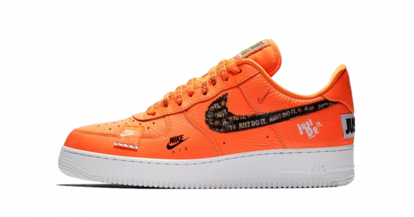 Nike Air Force 1 '07 Premium Just Do It Orange