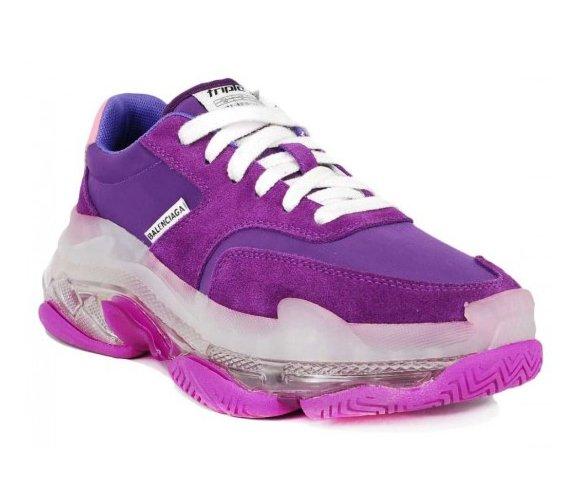 Balenciaga Triple s trainers bubble violet