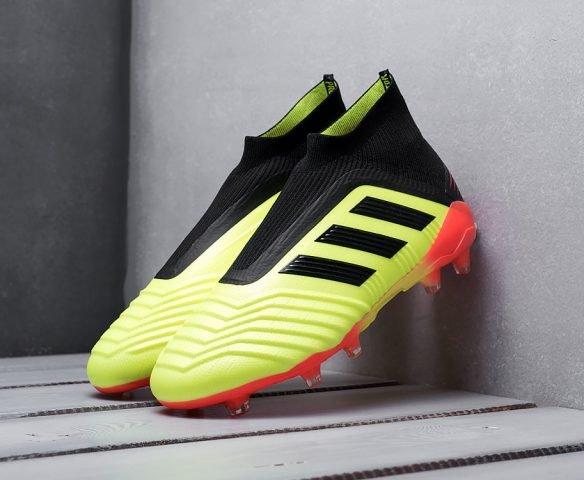 Adidas Predator 18+ FG зеленые