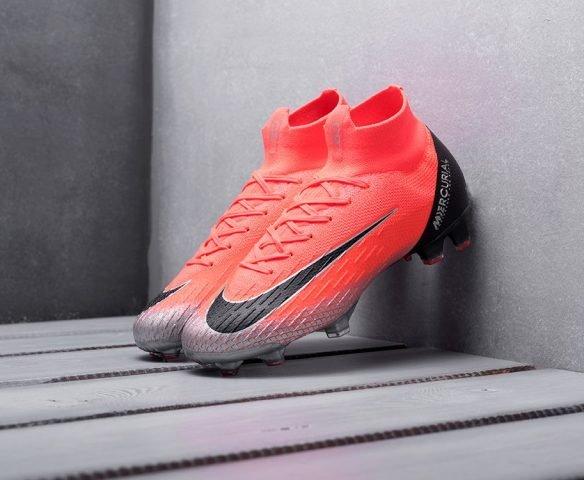 Nike Mercurial Superfly VI Elite CR 7 FG красные
