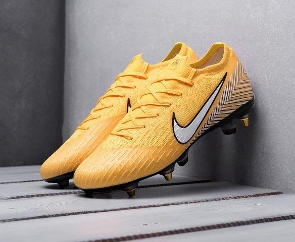 Nike Mercurial Vapor XII FG желтые