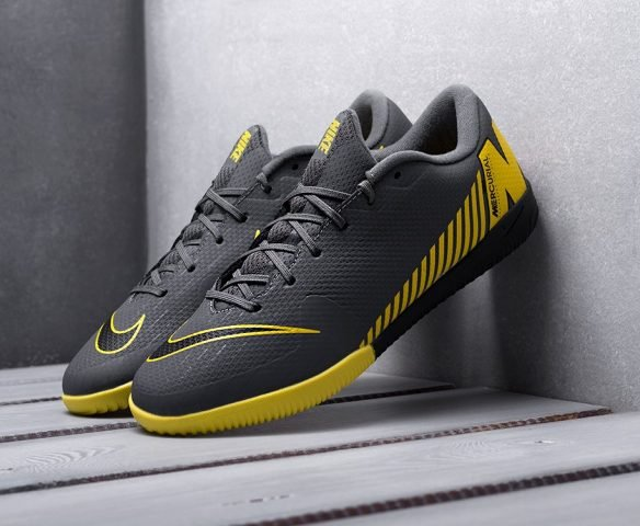 Nike Mercurial Vapor XII IC black-yellow