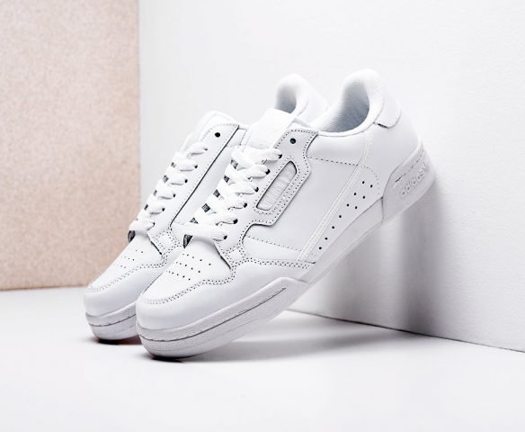 Adidas Continental 80 leather white