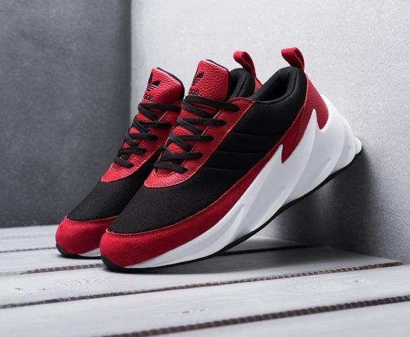 Adidas Sharks красные с черным