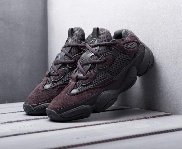 Adidas Yeezy 500 black-brown