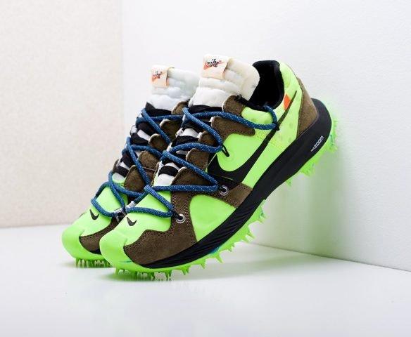 Nike x Off-White Zoom Terra Kiger 5 green