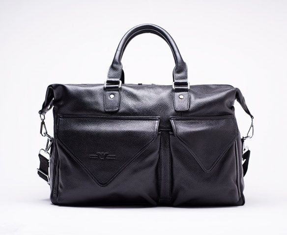 Сумка Armani black leather