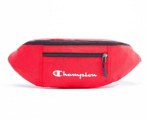 Сумка Champion красная поясная