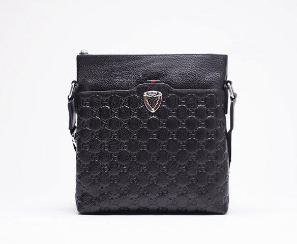 Сумка Gucci leather черная