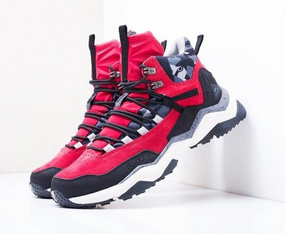 Ботинки RAX красные