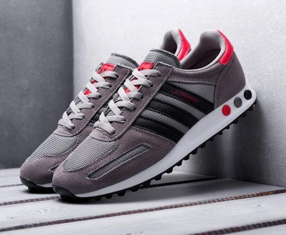 Adidas LA Trainer серые