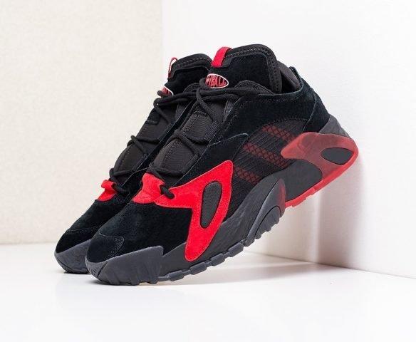Adidas Streetball черные с красным