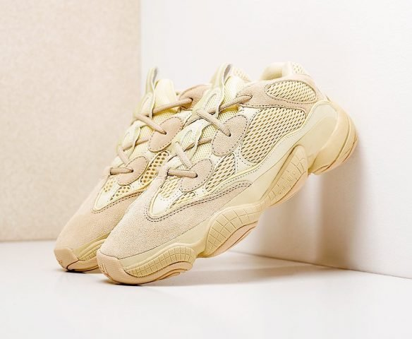 Adidas Yeezy 500 бежевые