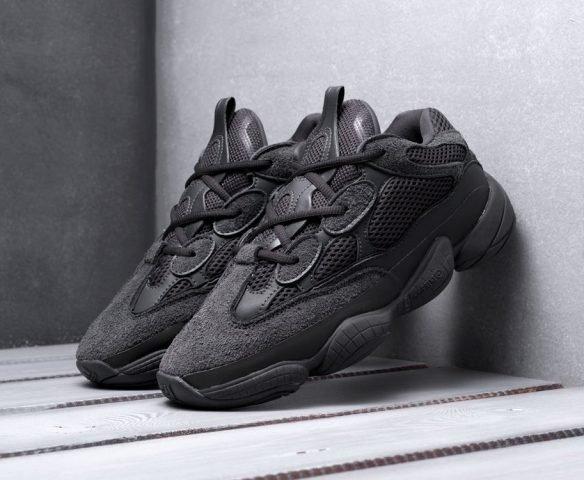 Adidas Yeezy 500 черные
