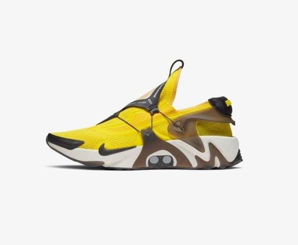 Nike Adapt Huarache желтые