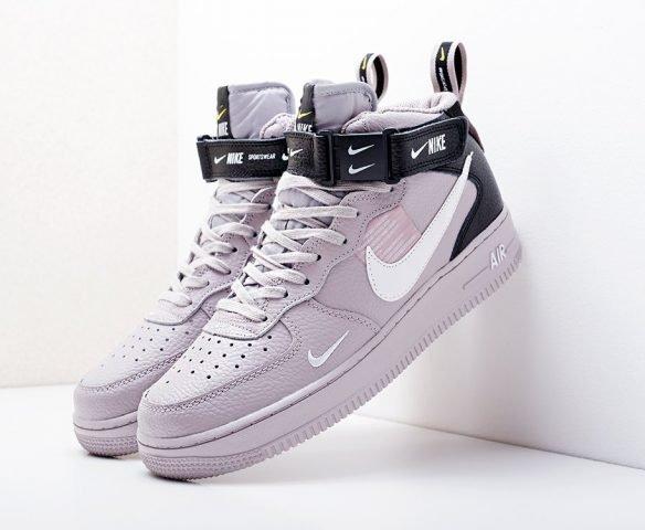 Nike Air Force 1 07 Mid LV8 серые