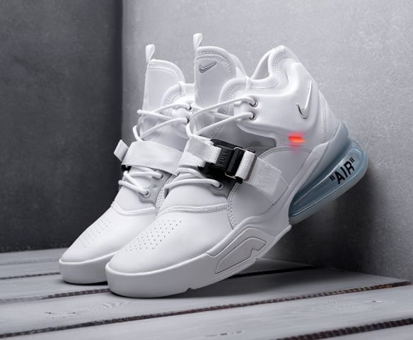 Nike Air Force 270 x OFF-White белые