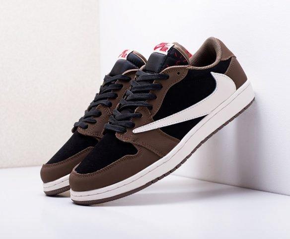 Nike Air Jordan 1 Low x Travis Scott brown
