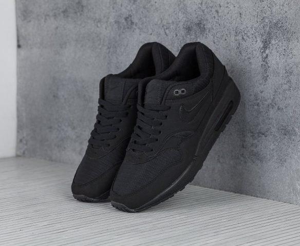 Nike Air Max 1 черные