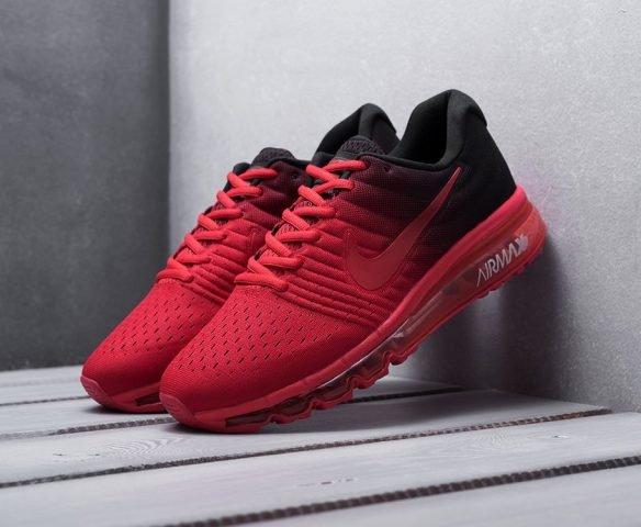 Nike Air Max 2017 красно-черные