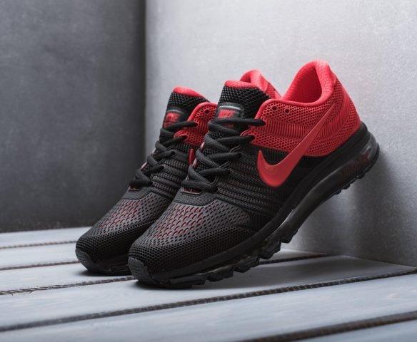 Nike Air Max 2017 black-red