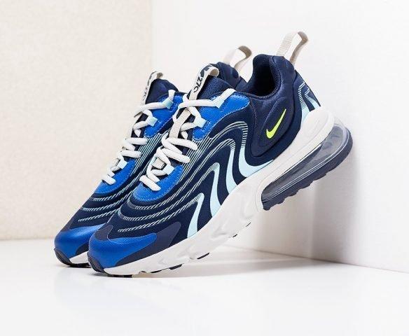 Nike Air Max 270 React ENG синие