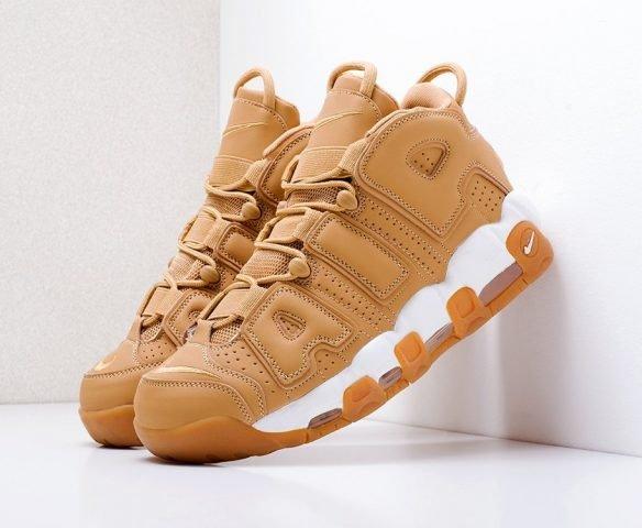 Nike Air More Uptempo коричневые