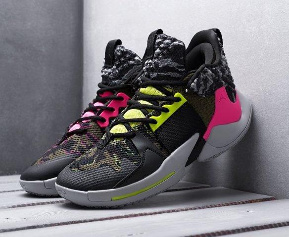 Nike Jordan Why Not Zer0.2 разноцветные