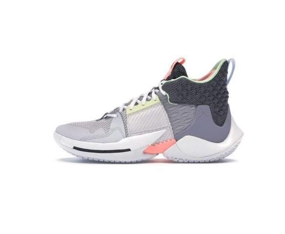 Nike Jordan Why Not Zer0.2 серые