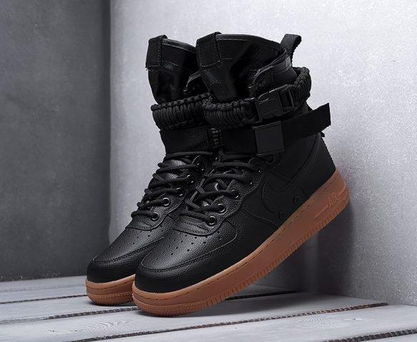 Nike SF Air Force 1 черные