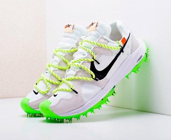 Nike x Off-White Zoom Terra Kiger 5 белые