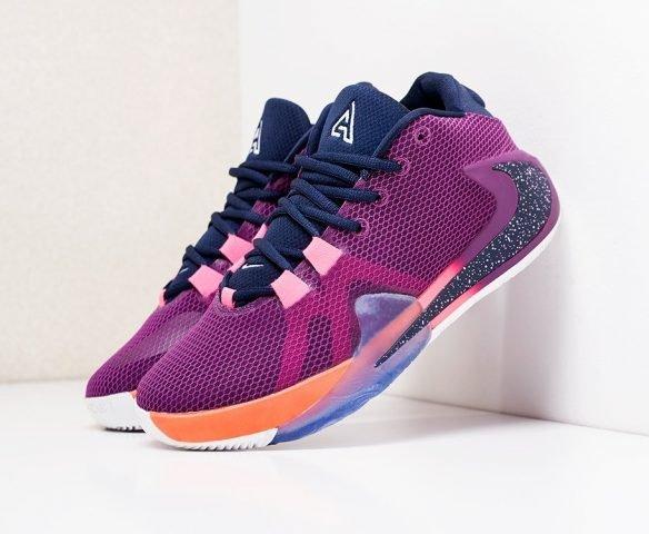 Nike Zoom Freak 1 фиолетовые