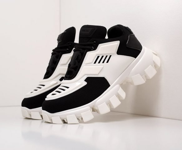 Prada Cloudbust Thunder черно-белые