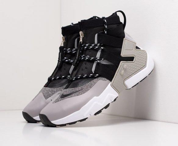 Nike Air Huarache Gripp black-grey