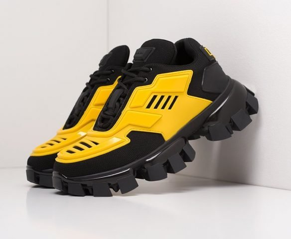 Prada Cloudbust Thunder черно-желтые