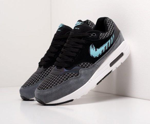 Nike Air Max 1 черно-серые